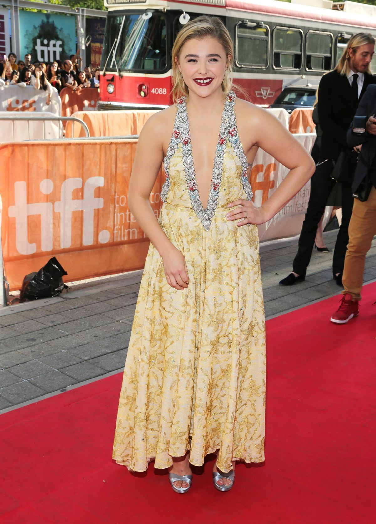 CHLOE MORETZ at 'Brain on Fire' Premiere at Toronto International Film Festival 09/16/2016