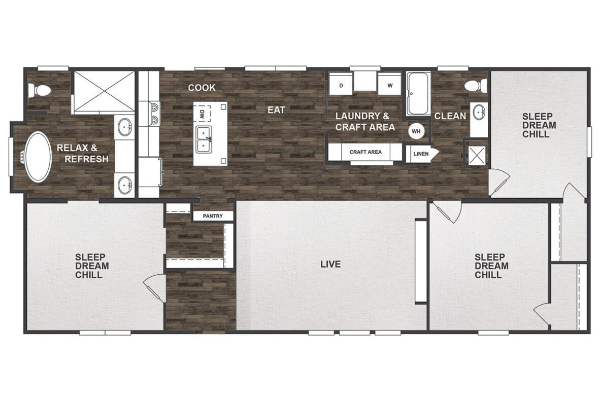 The Patriot Clayton Homes Floor Plan Can You Believe They - Clayton modular homes floor plans