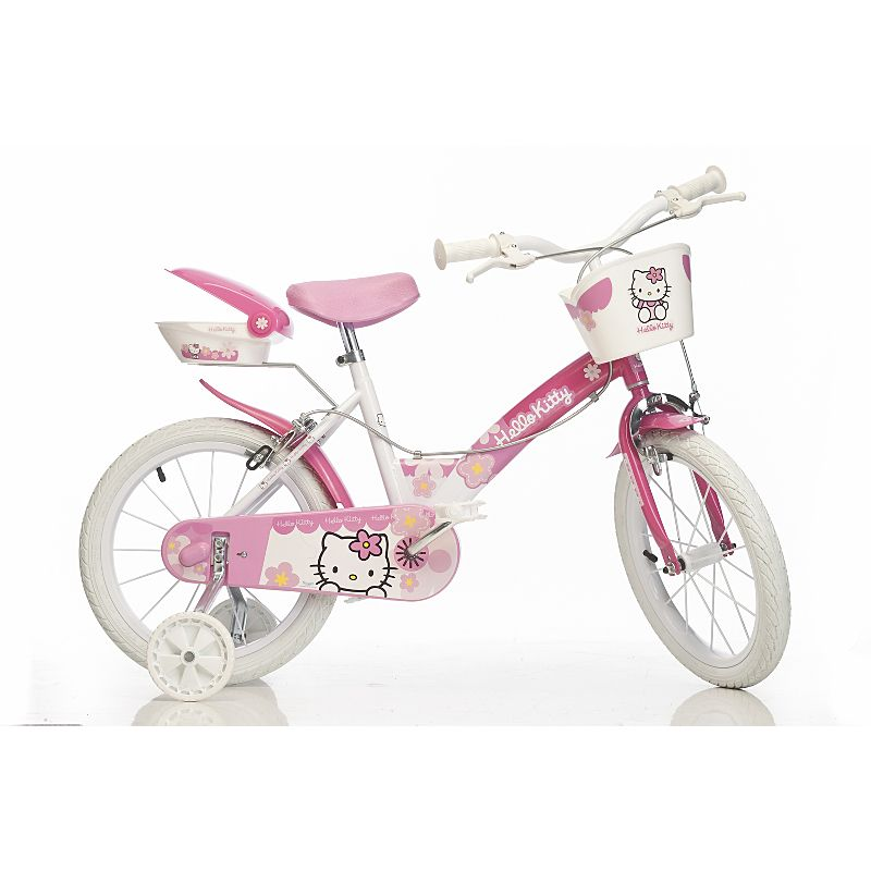 Hello Kitty Bike 14 Inch Wheels Kids Bikes Asda Direct
