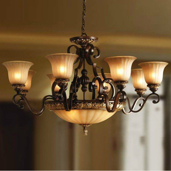Wrought Iron Lighting Europe Classical Aisle Lamps Wrought Iron