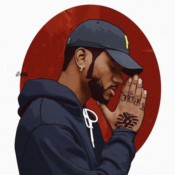 Bryson Tiller Trill Art Cartoon Art Hip Hop Art