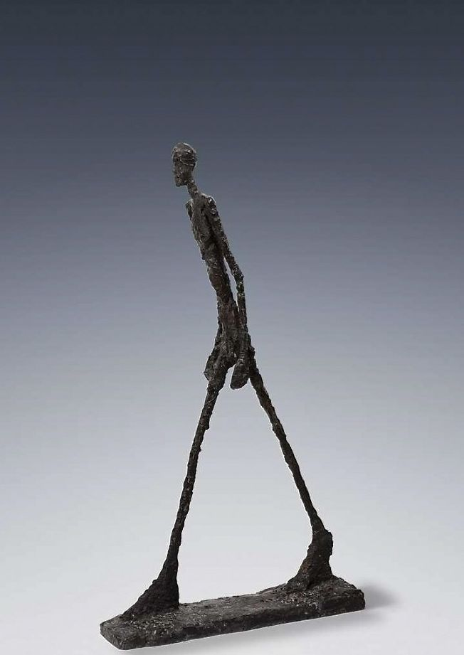 'L'Homme qui marche I' ('The Walking Man I,' or literally ...