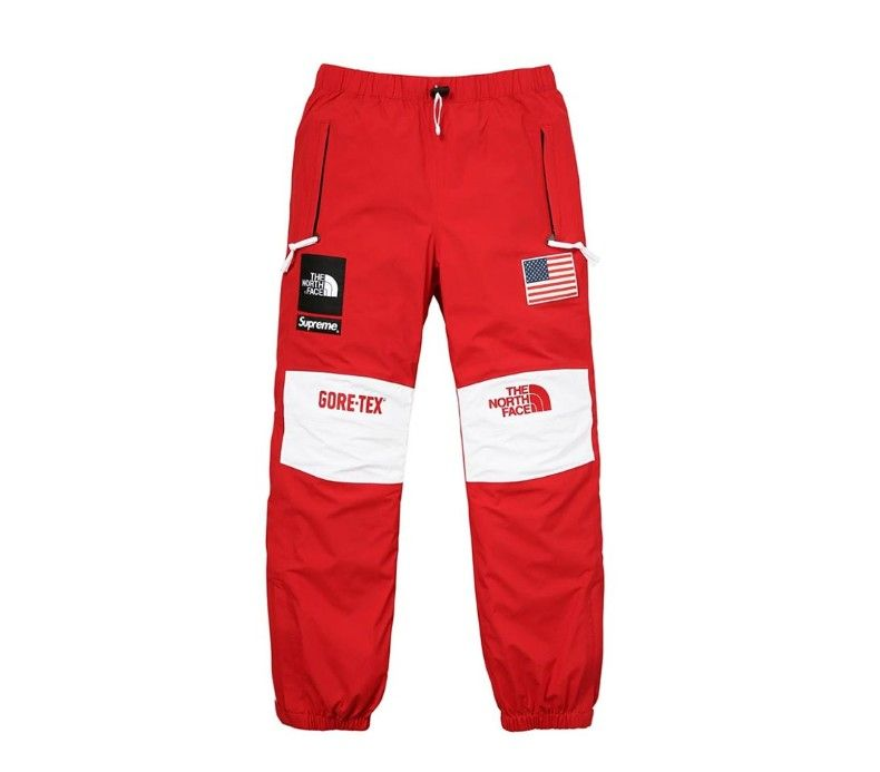 625af6c2b3b Supreme X The North Face Gore Tex (Red) | clothing | Pants, Polyvore ...