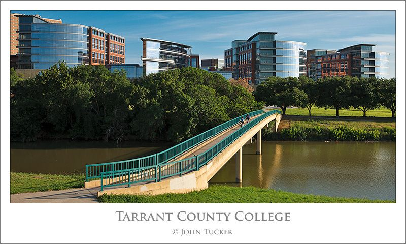 Tarrant County College Trinity River Campus Engagement Posing
