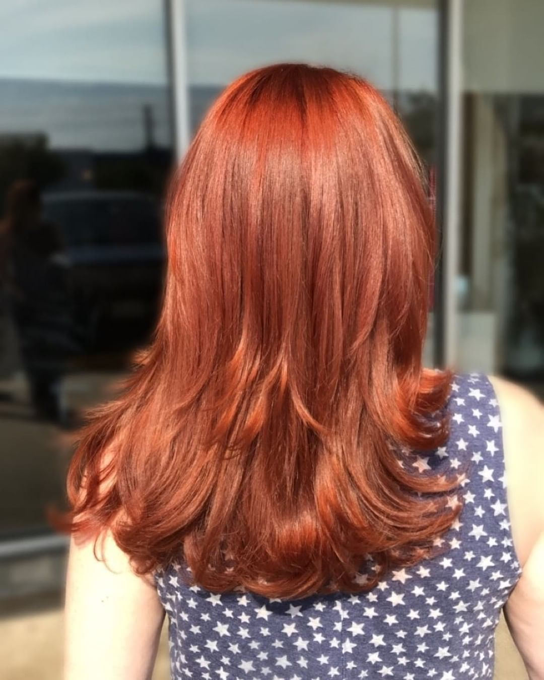 A Muted Autumnal Red Hair Color With A Bit Of Subtle Fire And A High Shine Finish We Love Everything About This Fall Hair Colors Wine Hair New Hair Colors