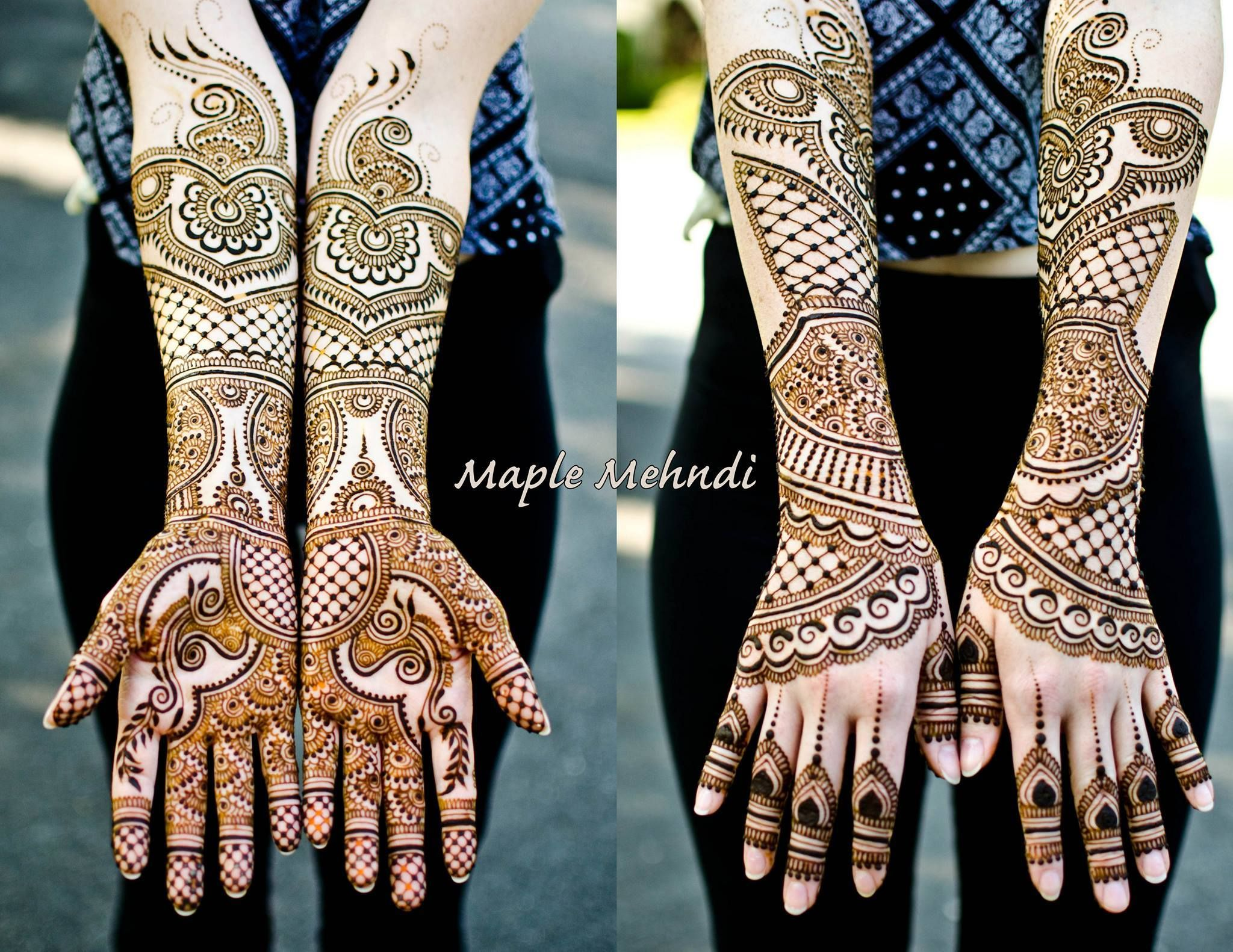Amazing Henna: Flawless! Check Out Maple Mehndi For Amazing Henna Designs