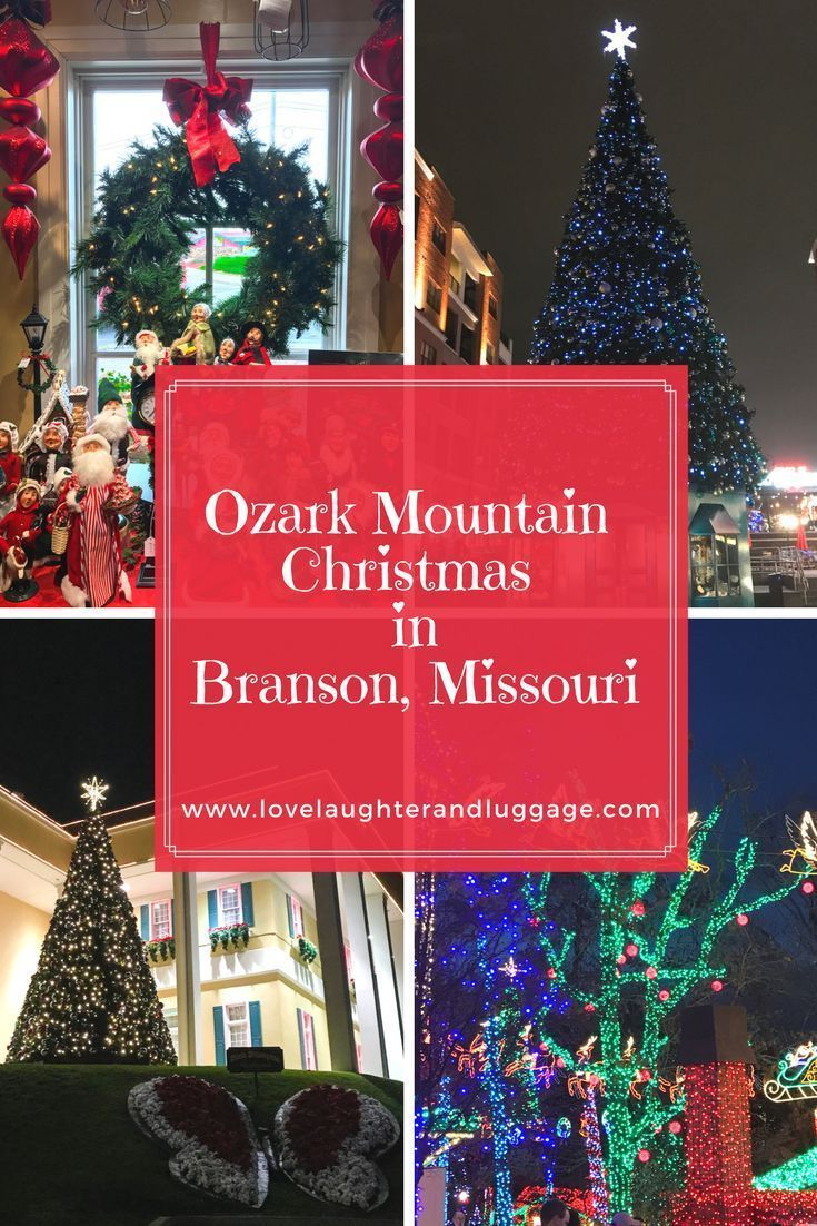 when you need a little christmas head to branson missouri travel destinations usa midwest pinterest travel travel usa and travel tips