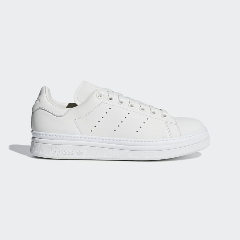 Stan Smith New Bold Shoes White AQ1087 Adidas chaussures stan  Adidas shoes stan