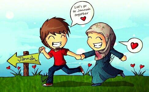muslimische Liebe