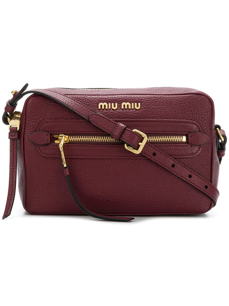MIU MIU LOGO CAMERA BAG.  miumiu  bags  shoulder bags  leather ... e5072c2f58654