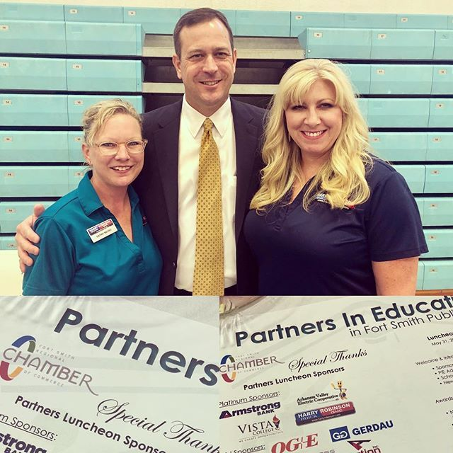 Harry Robinson Fort Smith Ar >> What A Great Day To Have A Partners In Education Luncheon