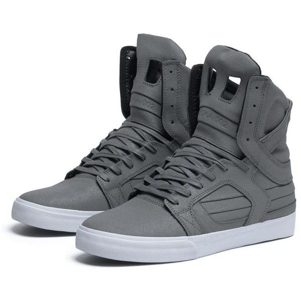 SUPRA SKYTOP II Shoe | GREY WAXED CANVAS TUF | Official SUPRA Footwear Site