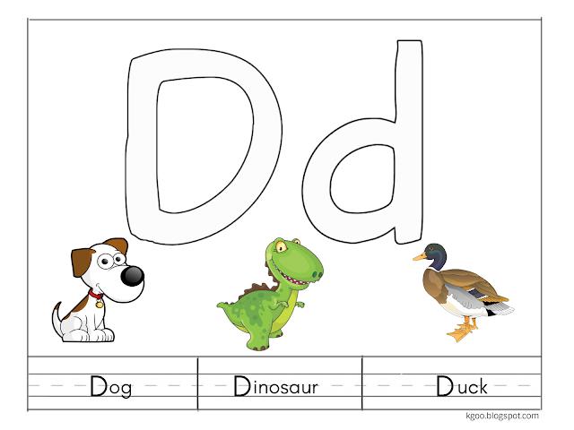 تمارين متنوعة وأوراق عمل لشرح حرف D للأطفال Character Mario Characters Dinosaur