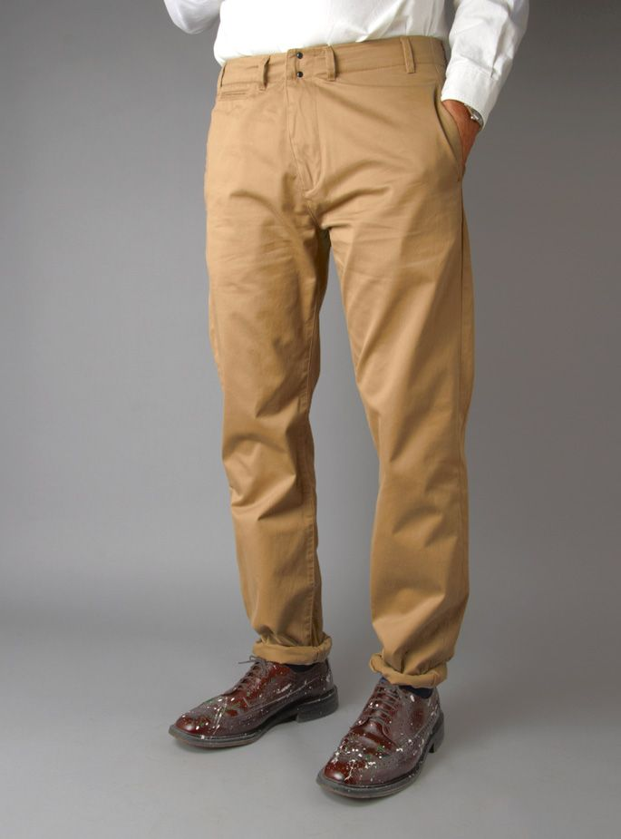 Couverture and The Garbstore - Mens Civilian Service Chino
