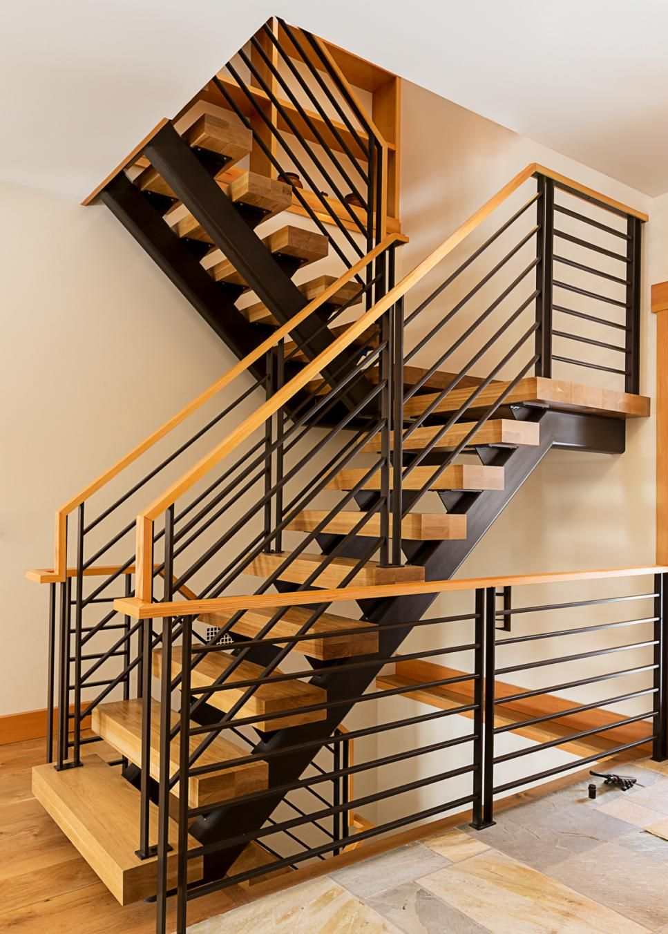 50 Stair Railing Ideas To Dress Up Your Entryway Hgtv Stair