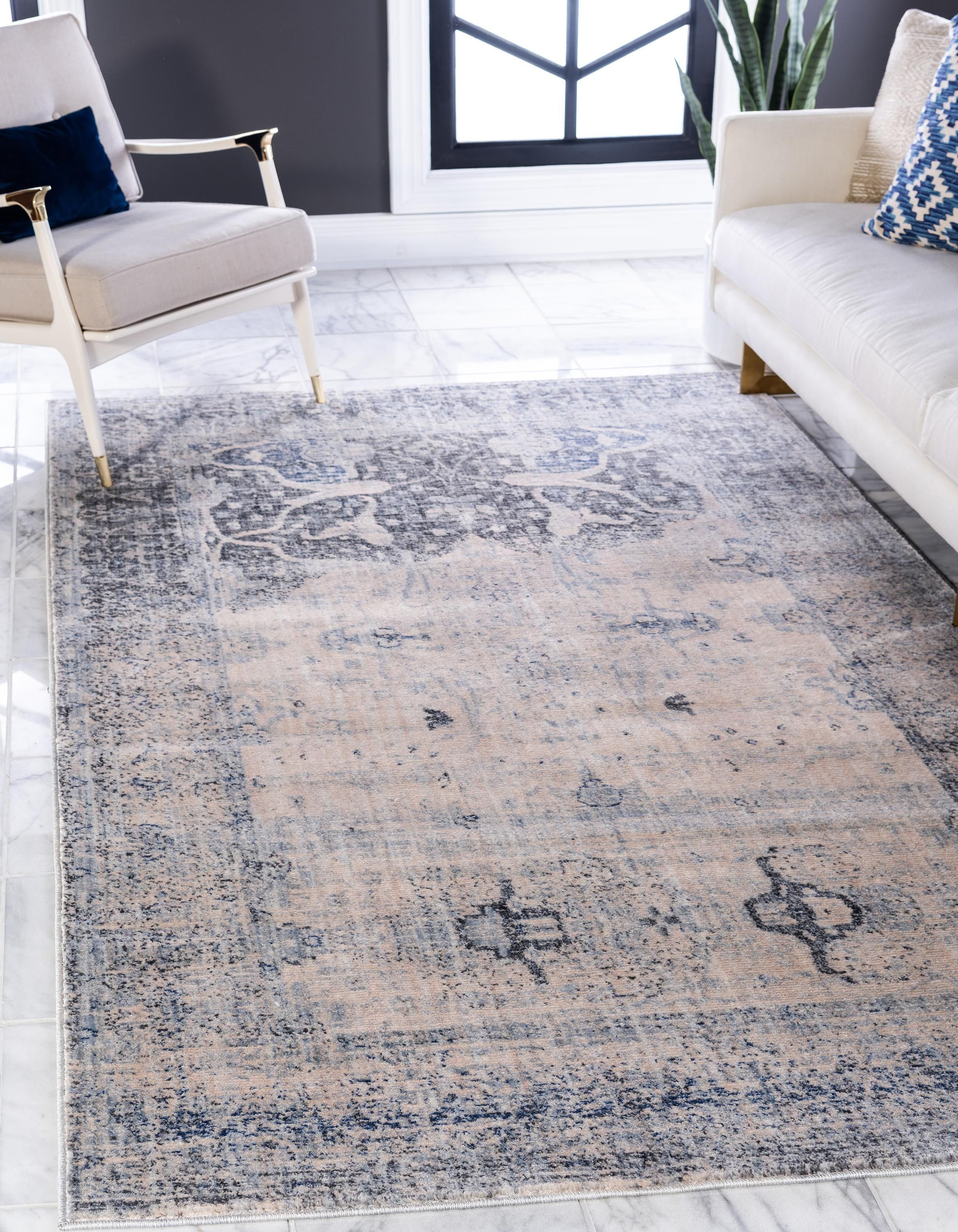 Gray 8 X 10 Oxfordshire Rug Rugs Com Modern Area Rugs Area Rugs Round Rugs