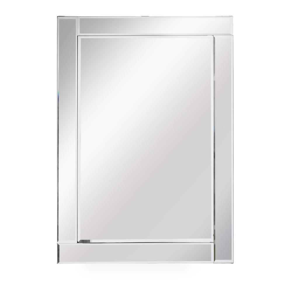 all glass frame mirror large 75 x 105cm frame mirrors bedrooms