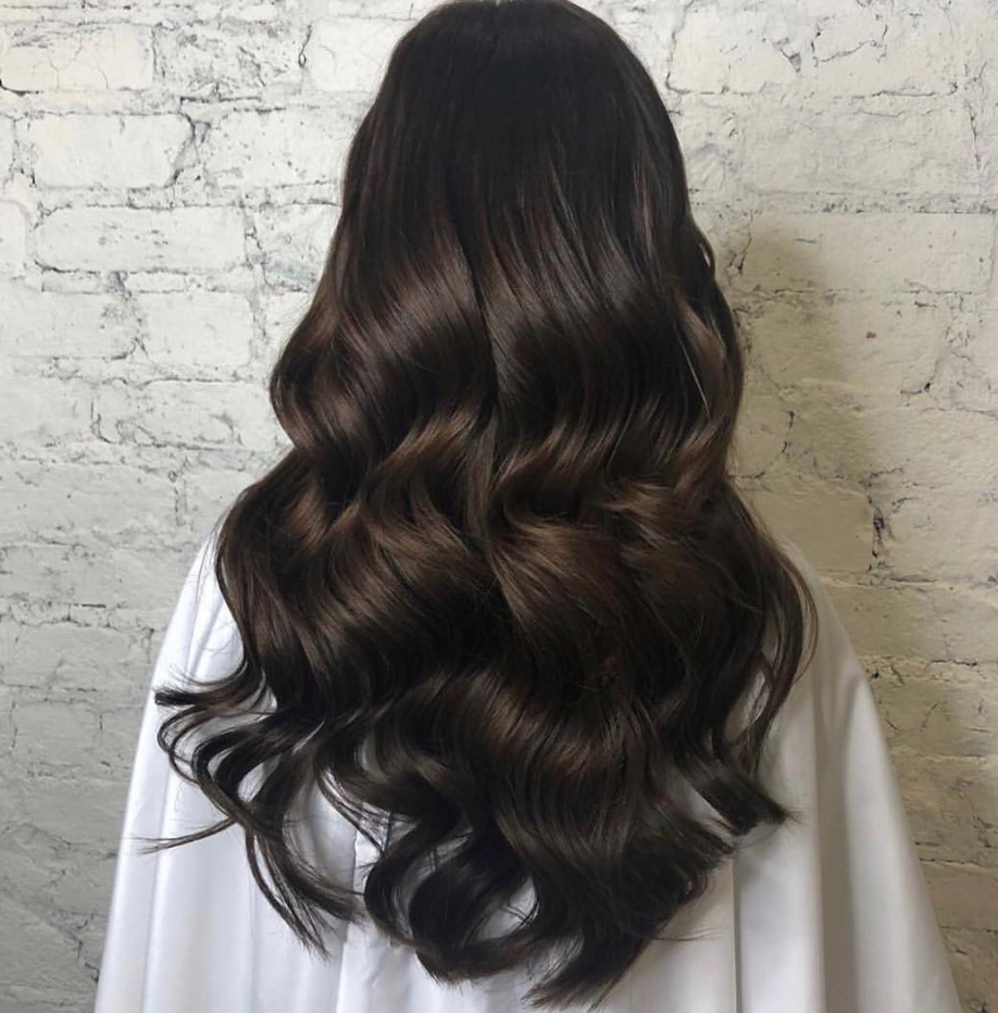 22 Inch Brunette Clip In Hair Extensions In Hot Toffee Beauty Works