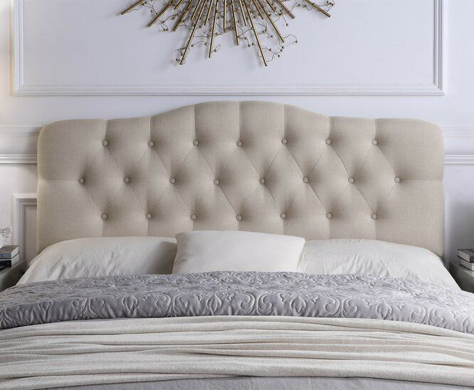 Dax Upholstered Panel Headboard Upholstered Panels Bedroom Interior Interior Design Bedroom