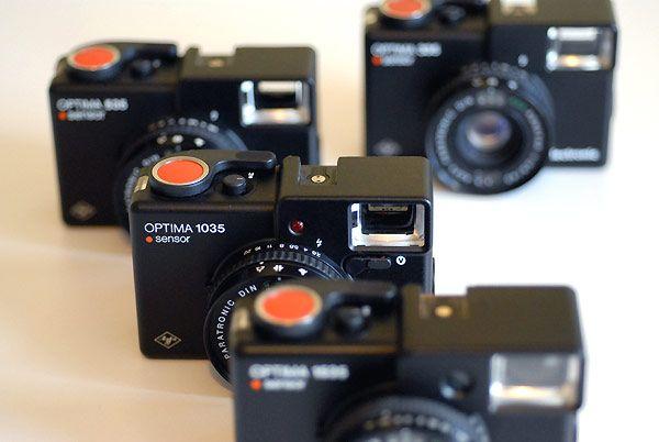 Agfa Optima Sensor - big red buttons!