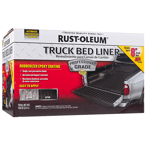 RustOleum® Truck Bed Liner is a professionalgrade two
