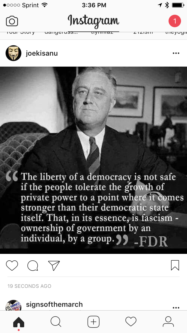 Pin by Tiffany Williams on Quotes Democracy quotes, Fdr