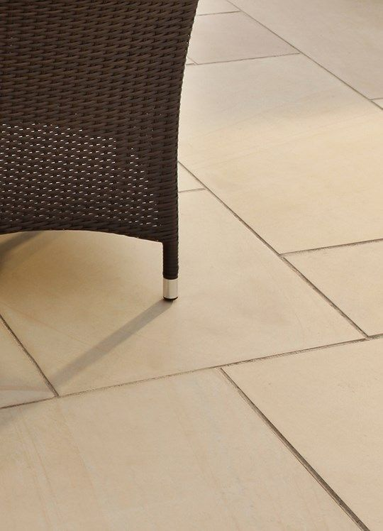 Smooth Natural Sandstone Paving Slabs | Bradstone   This Is A Smoother Look    Need To