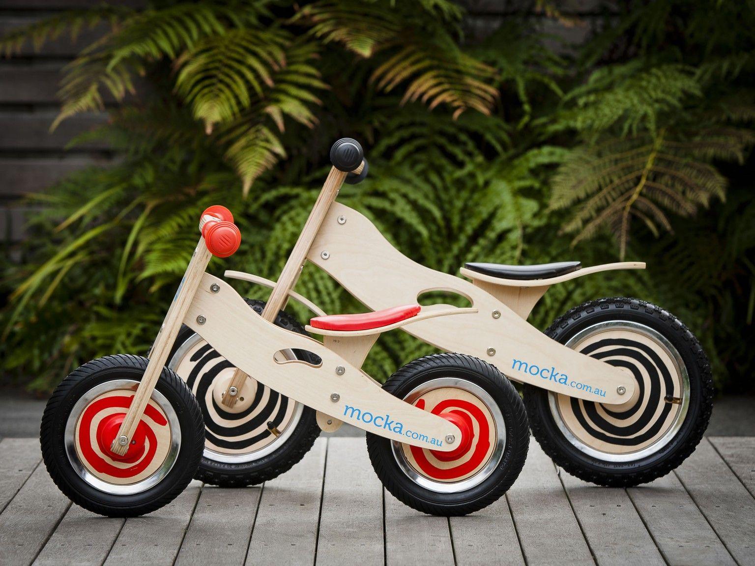 Mocka Mini Urban Balance Bike Compared To Urban Bike Balance