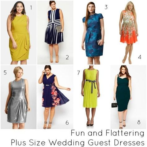 6bc8e9dbf0eb Tips on how to buy the right plus size wedding guest dresses and a  selection of beautiful dresses to wear to a wedding in sizes 14 plus.