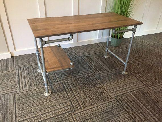 Iron pipe office desk iron pipe desk kit diy