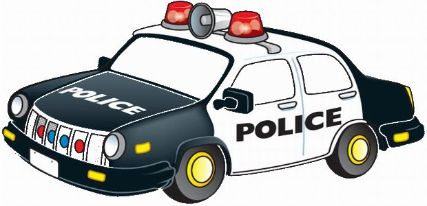 Police Police Cars Police Cars Coloring Pages