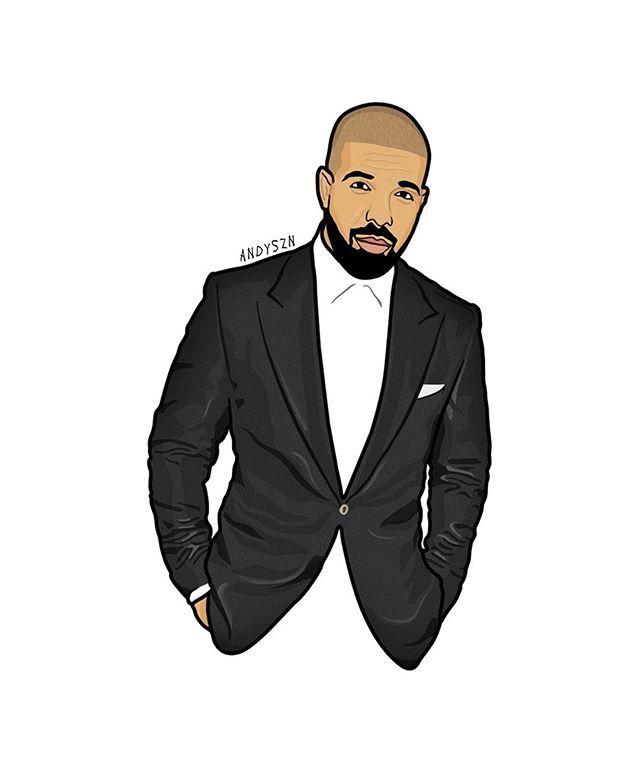 Asouthernsavage drawing in 2019 drake drawing rapper - Drake views wallpaper ...