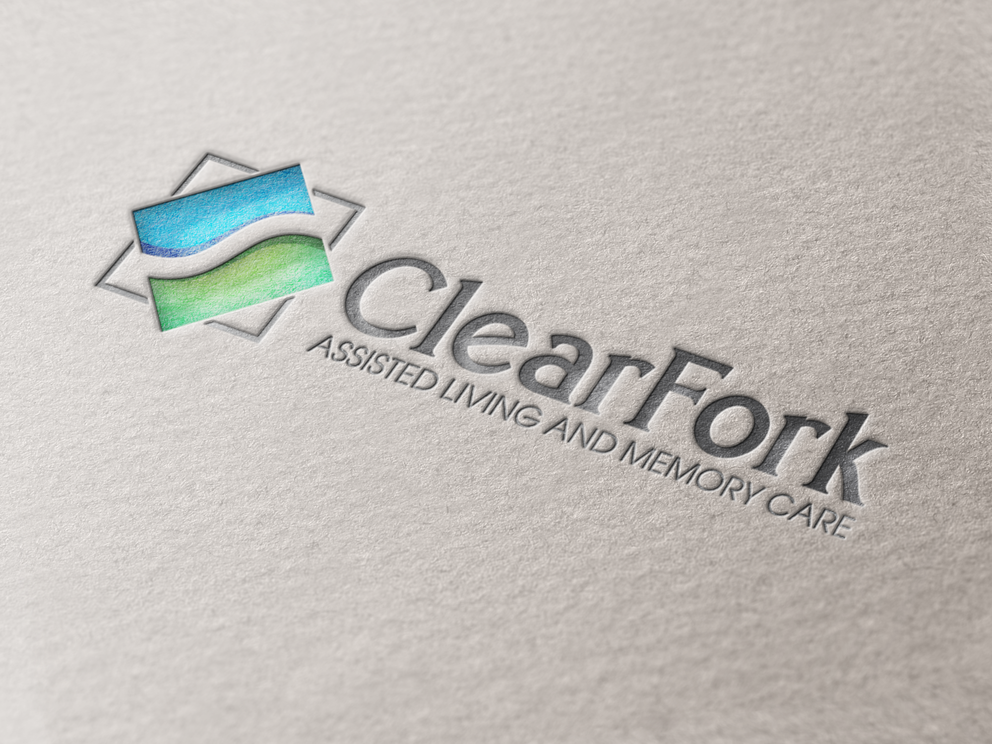 Logo for Clear Fork Assisted Living and Memory Care by Sagentic Web Design - http://www.sagentic.com