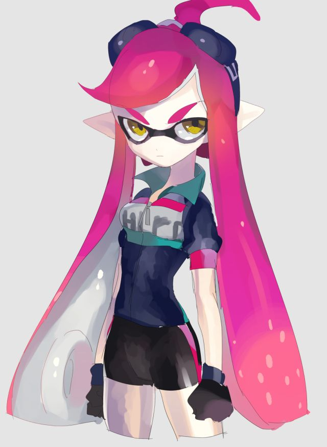Inkling Girl Fan Art Splatoon Character Design Girl Nintendo
