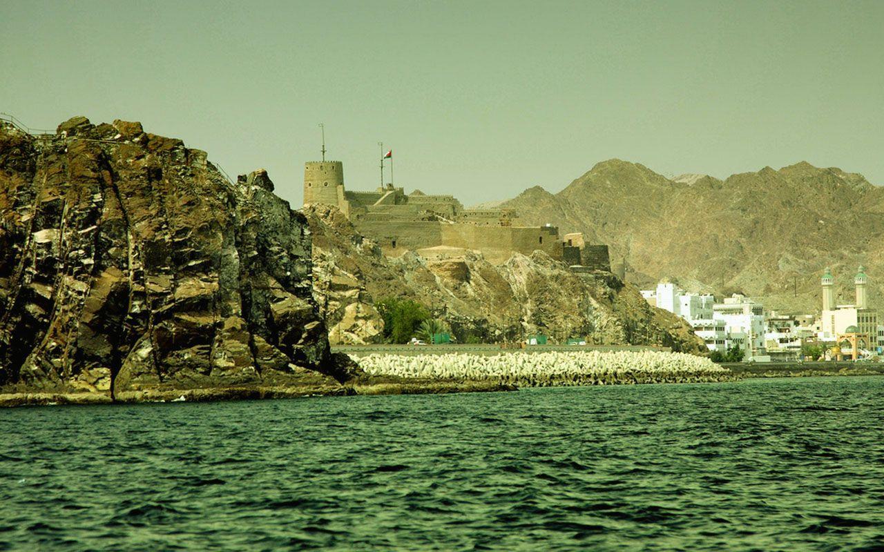 Muscat Coast Fortress Oman Oman To Go Coast
