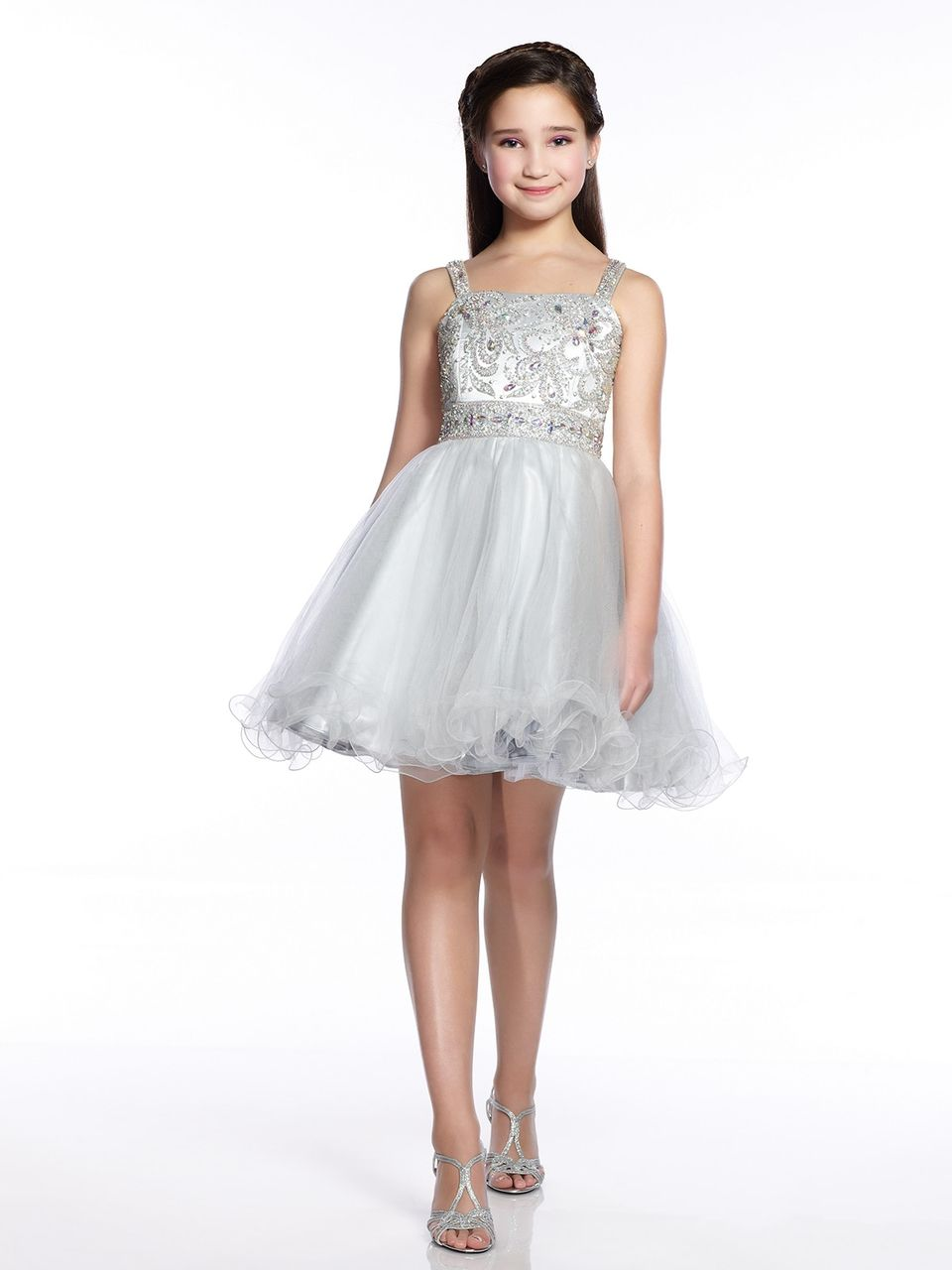 Lexie Girls Cocktail Dress Tw21545 Graduation Dresses Girls And