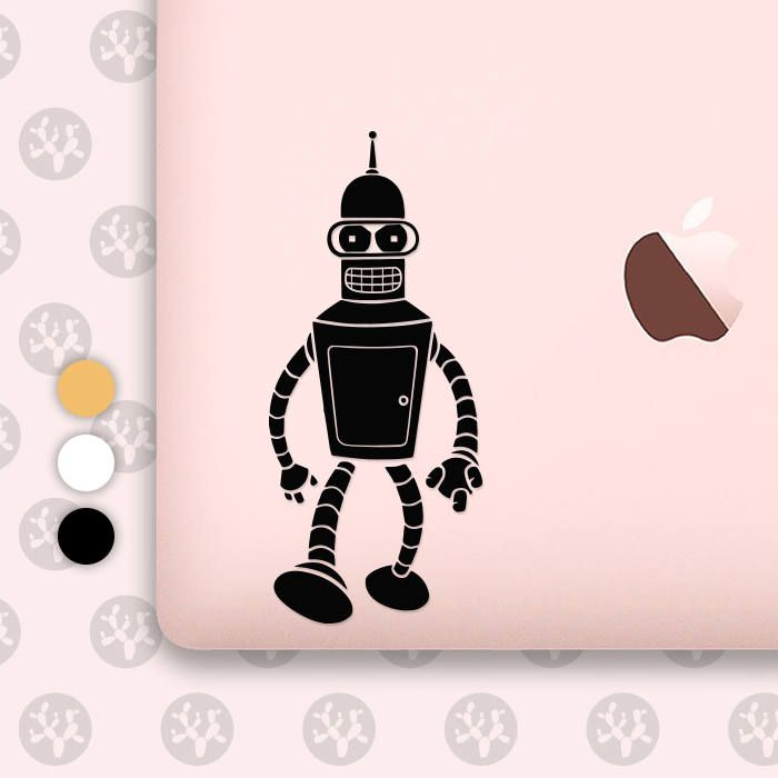 Bender bender decal bender sticker robot bender futurama bender bender robot