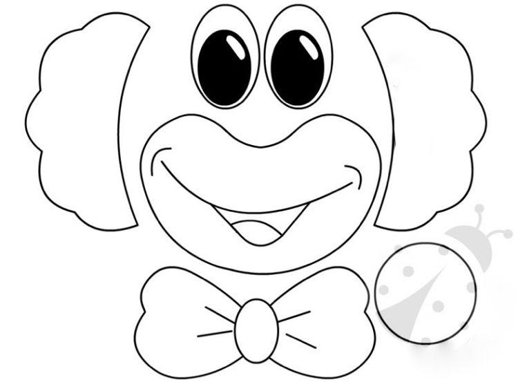 Clown Basteln Mit Kindern Zu Fasching Vorlagen Ideen Und Anleitungen Clown Basteln Clown Basteln Vorlage Und Clown Basteln Pappteller