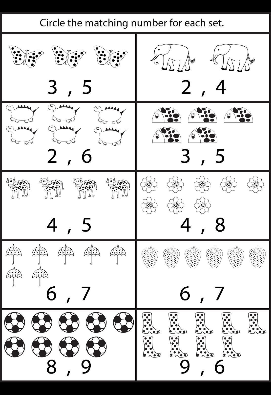 Free Printable Worksheets For Preschool Teachers In 2020