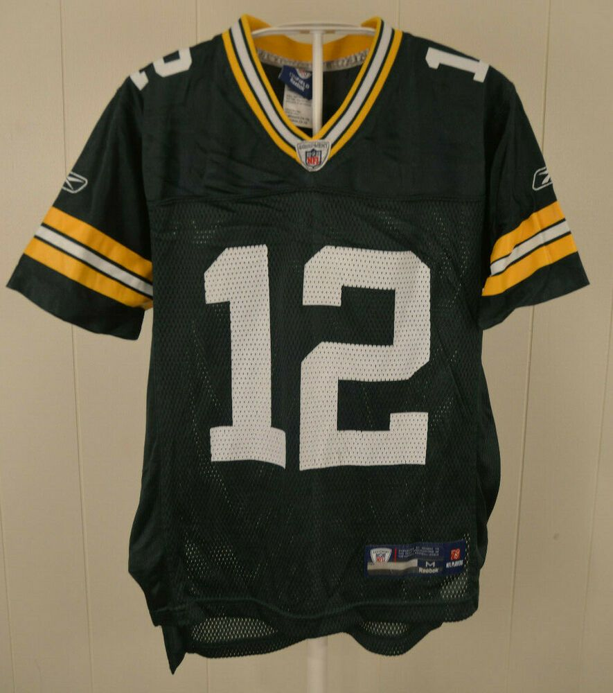 cf0f3d3227c Reebok Green Bay Packers Jersey #12 Aaron Rodgers Kids Youth Medium 10-12  Green #Reebok #GreenBayPackers
