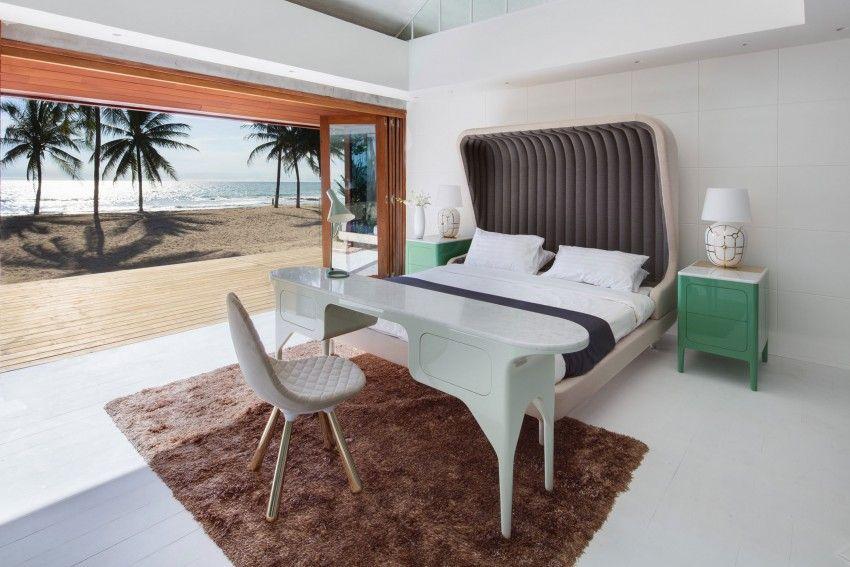 Collector\u0027s Villa Casa Ideale - Interni la camera da letto / The - iniala luxus villa am strand a cero