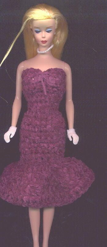 strapless dress free crochet pattern | Dolls ...