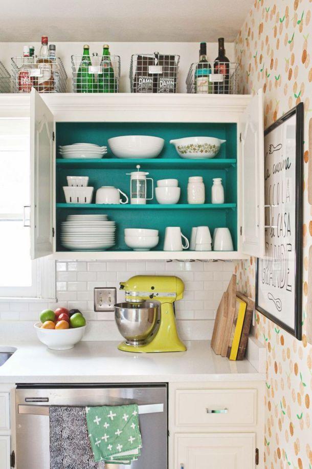 30+ Genius Kitchen Organization Hacks   Small kitchen ...