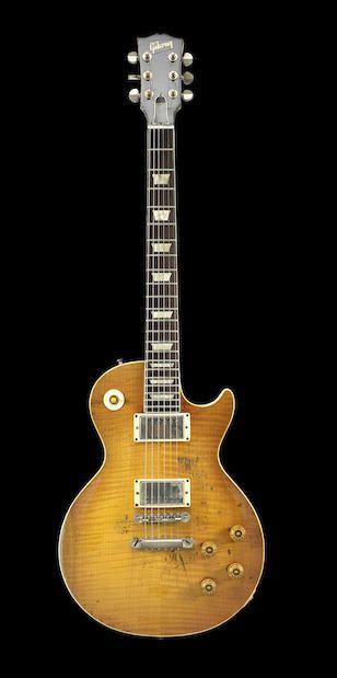 Bonhams : Paul Kossoff/Free: A 1959 Gibson Les Paul Standard with ...