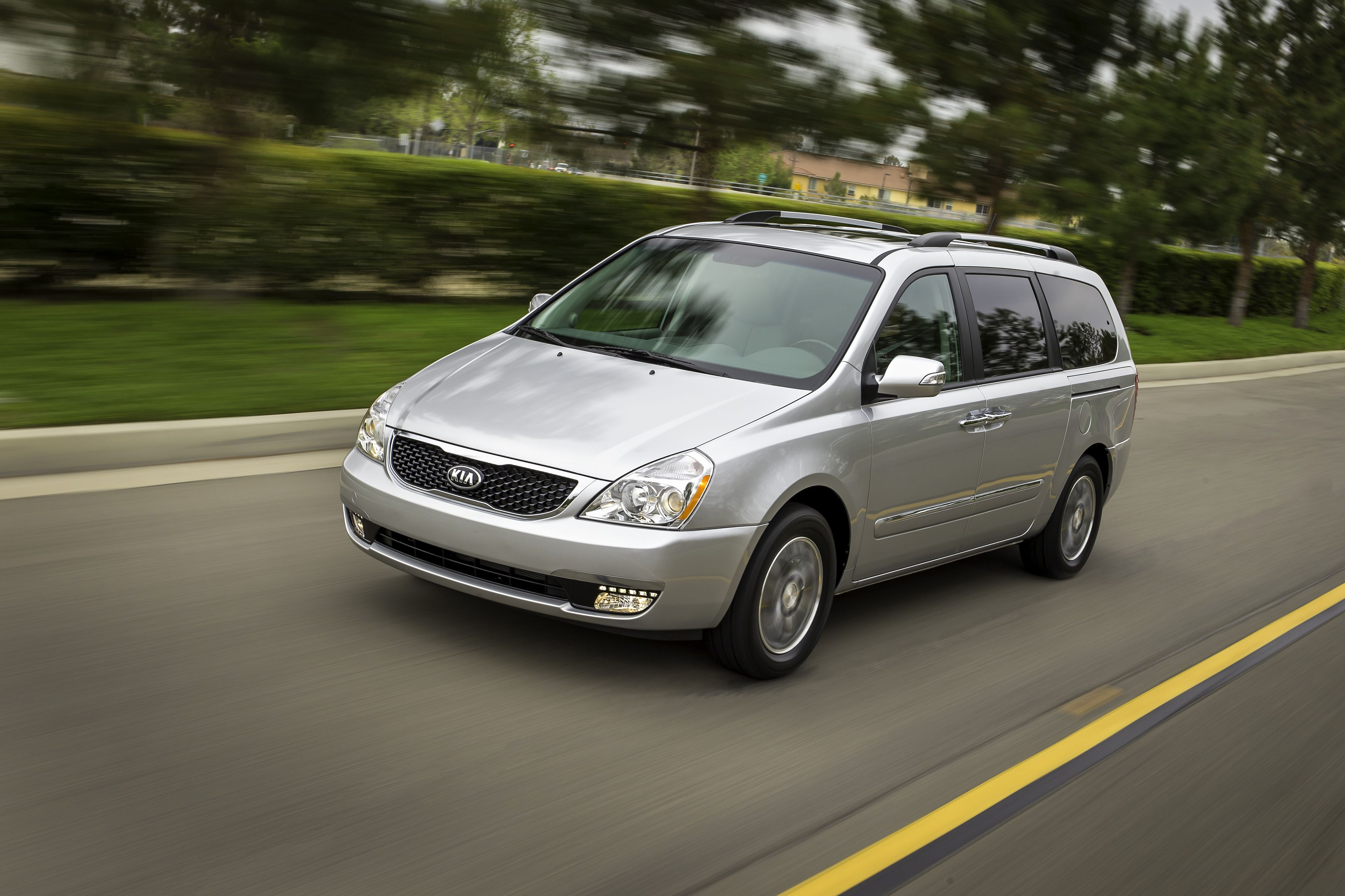 The Sedona earns National Highway Traffic Safety