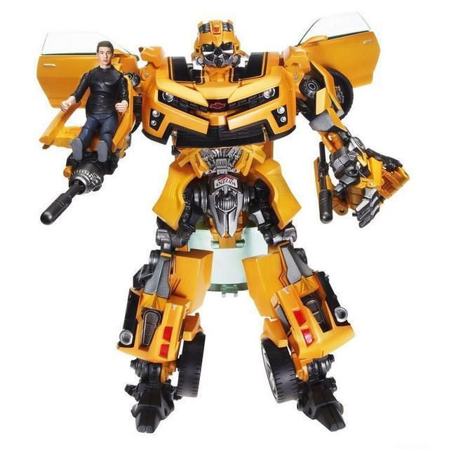 Single Robot Movie Technic Mobile Bumblebee Transforme Figure Building Block