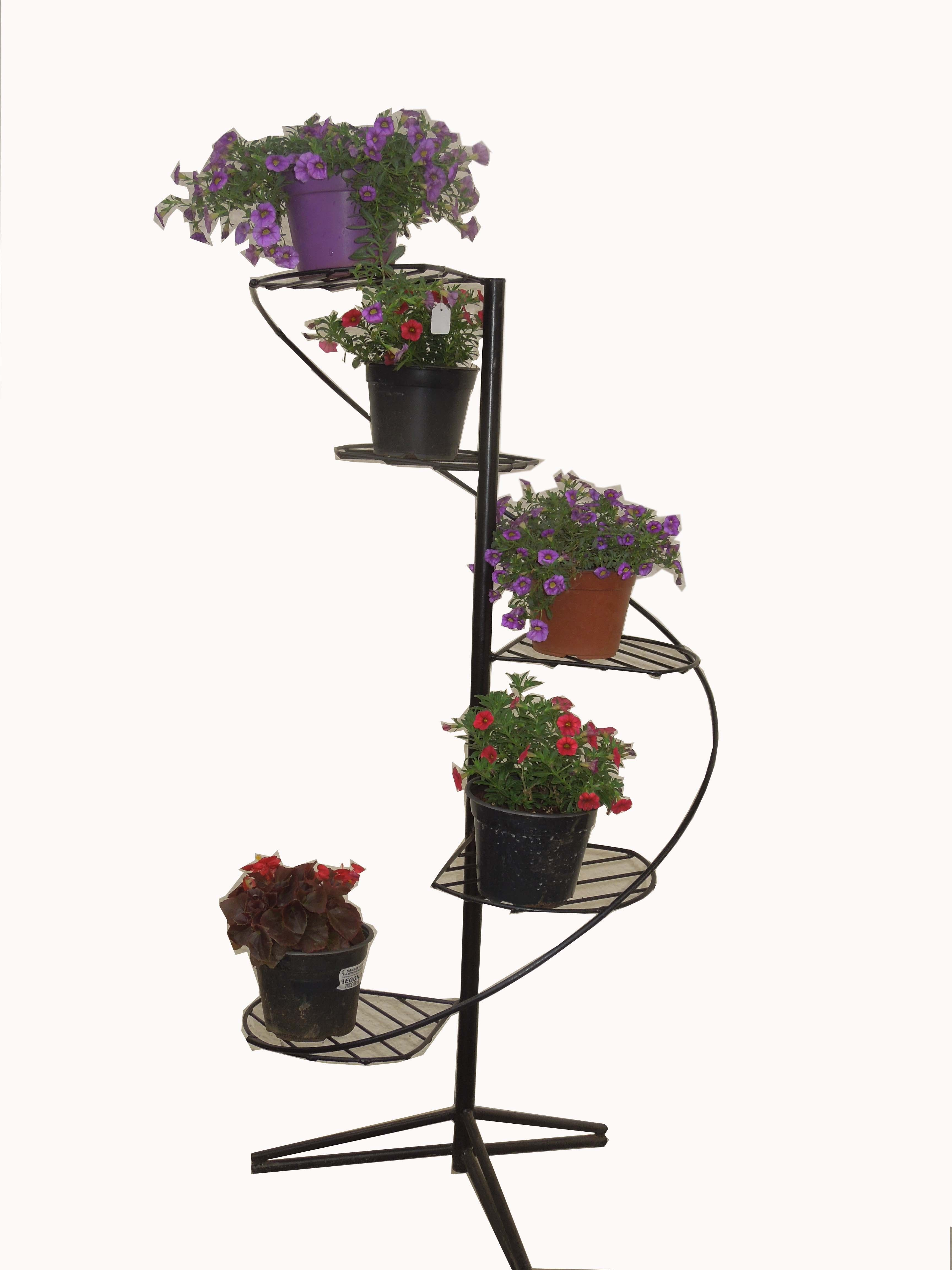 Spiral Pot Stands Plant Stands Online In India Chhajedgarden