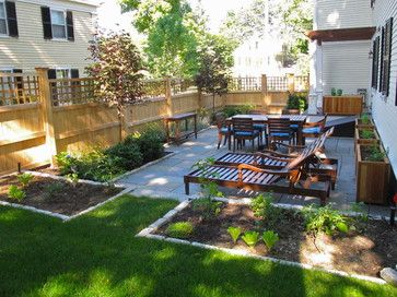 Bluestone Patio - traditional - patio - boston - Nilsen Landscape Design, LLC @Cindy Erickson