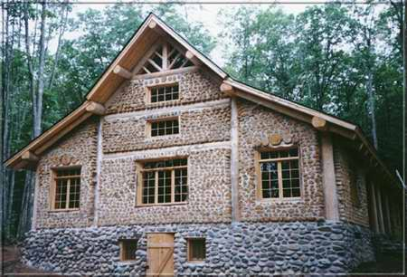 I Am Now A Huge Fan Of Cordwood Building Other Things I