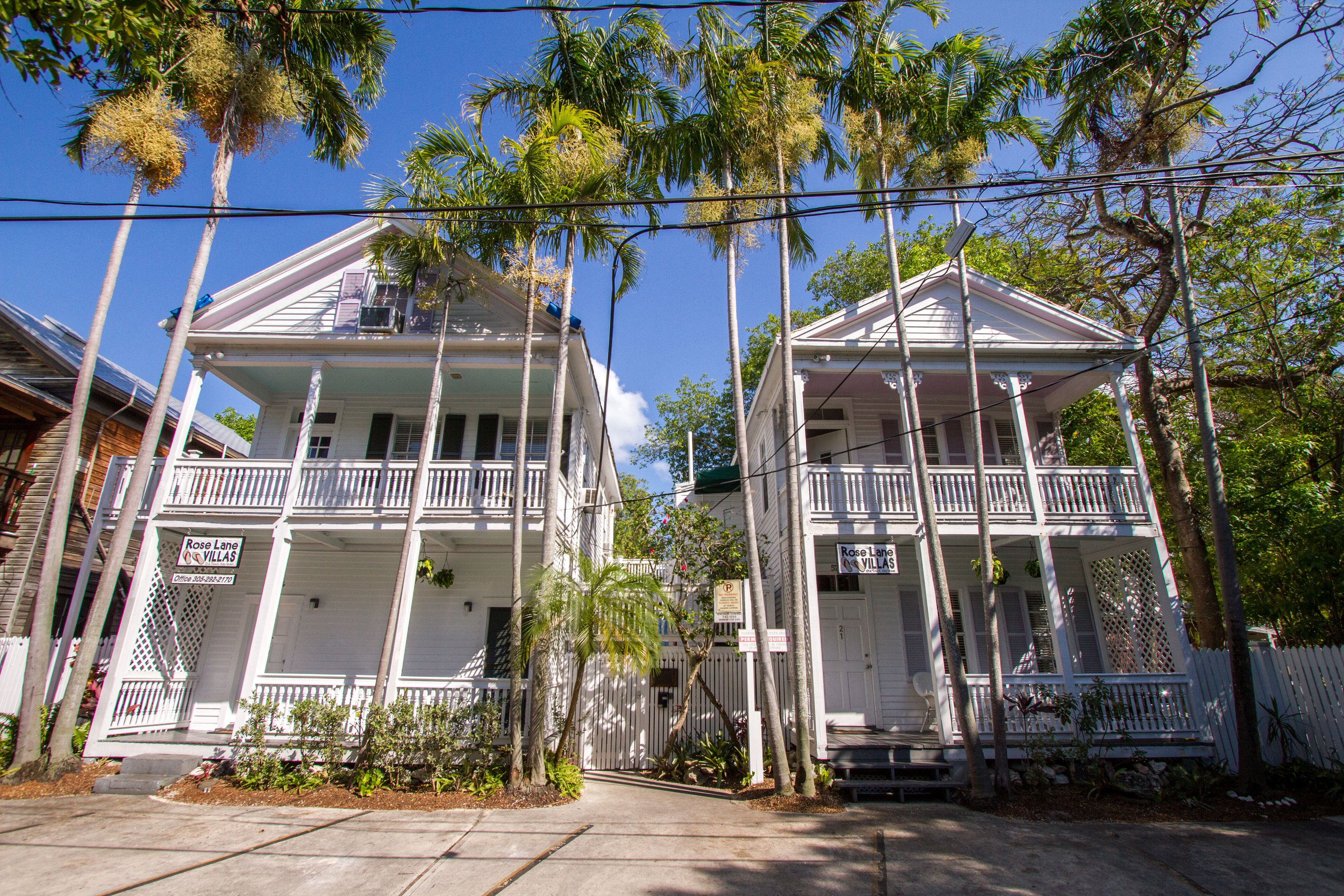 Rose Lane Villas is located in the heart of Old Town, Key